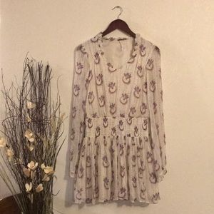 Free people feather tunic
